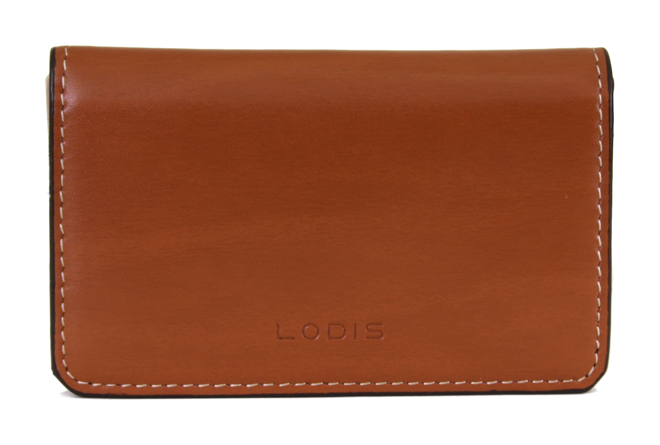 Lodis AUDREY MINI CARD CASE Toffee