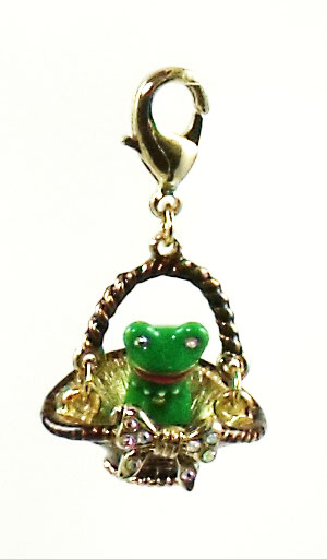 Betsey Johnson Jewelry Walk In The Park Frog Charm