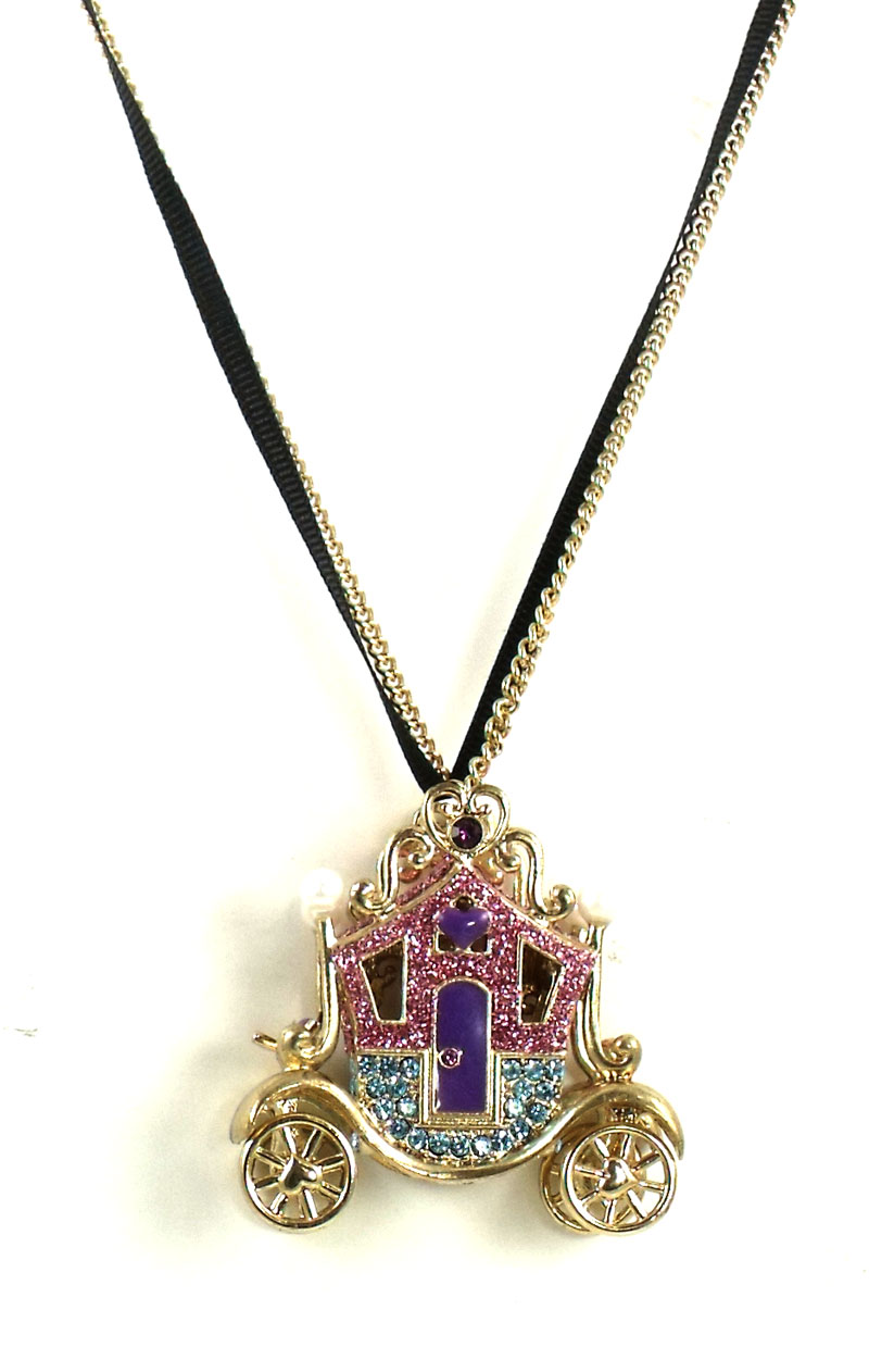 Betsey Johnson Jewelry Imperial Carriage Necklace
