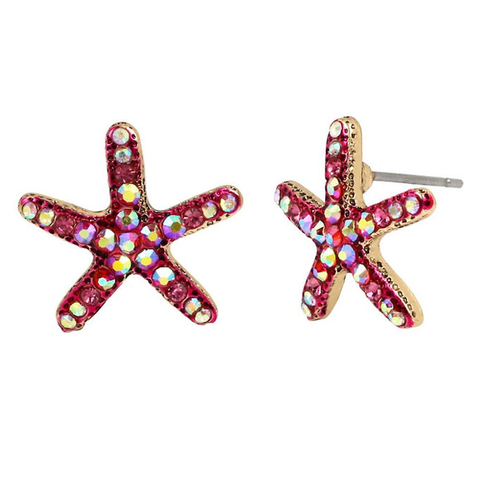 Betsey Johnson Jewelry BETSEY and THE SEA Starfish Stud Earrings