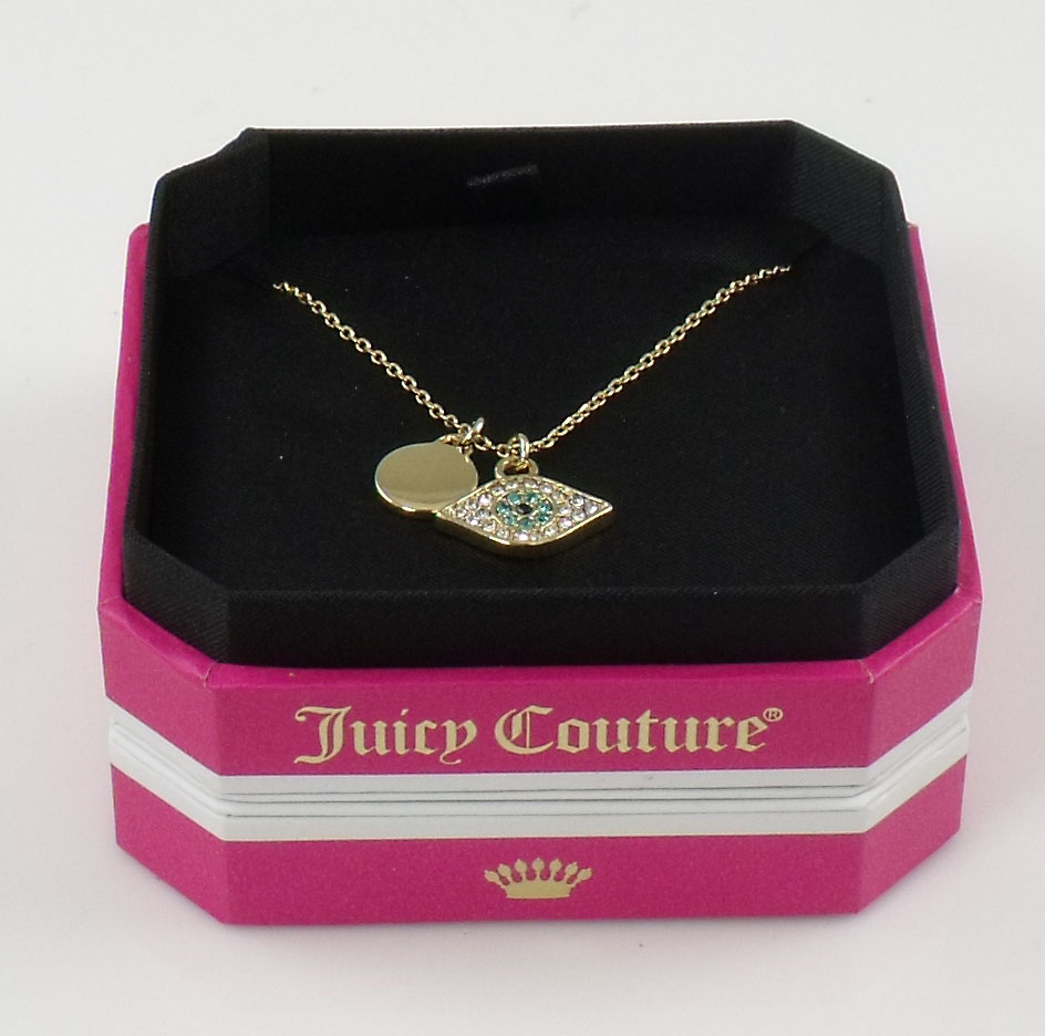 Juicy Couture Jewelry Evil Eye Necklace New NWT Authentic
