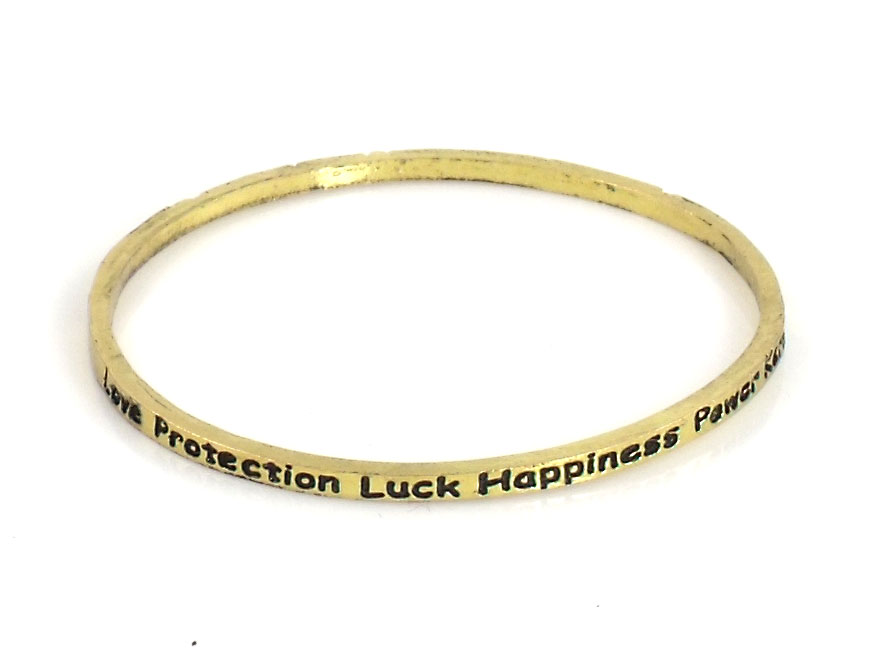 Urban Chic Jewelry Inspire Bangle Bracelets Love Protection Luck