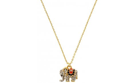 Juicy Couture Jewelry Elephant Necklace New 2013