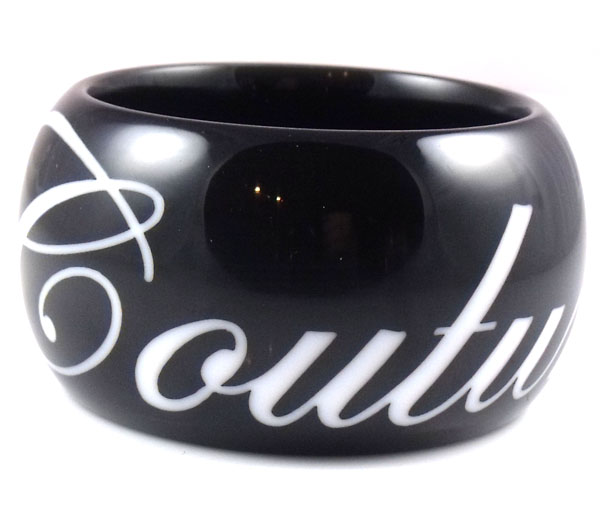 Juicy Couture Jewelry Couture This Black Bangle