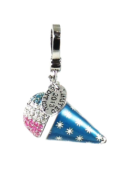Juicy Couture Jewelry Snow Cone Limited Edition Silver Charm New
