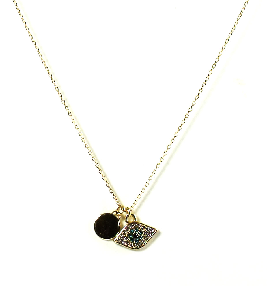 Juicy Couture Jewelry Evil Eye Necklace New 2013